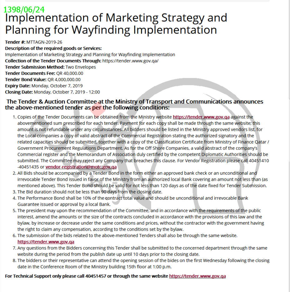 Implementation of Marketing Strategy and Planning for Wayfinding Implementation